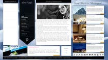 Bài tham dự #8 về Graphic Design cho cuộc thi Disegnare la Bozza di un Sito Web for: offerte soggiorni (con attività) in località turistica di montagna