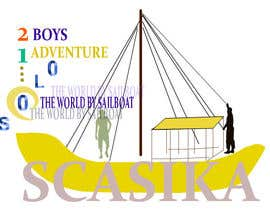scasika tarafından 2 Boys, one adventure around the world by sailboat için no 10