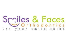 #9 untuk Design a Logo for Smiles & Faces Orthodontics oleh thimsbell