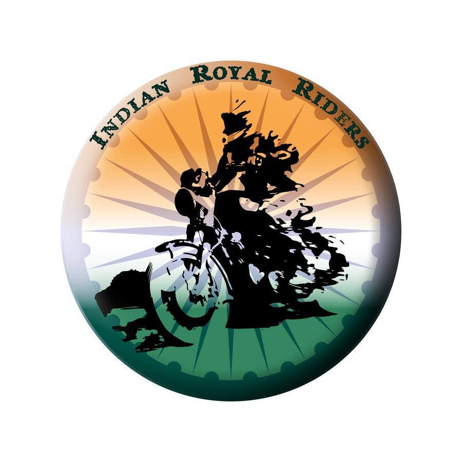 Bài tham dự cuộc thi #                                        13                                      cho                                         Design a Logo for Indianroyalriders.com