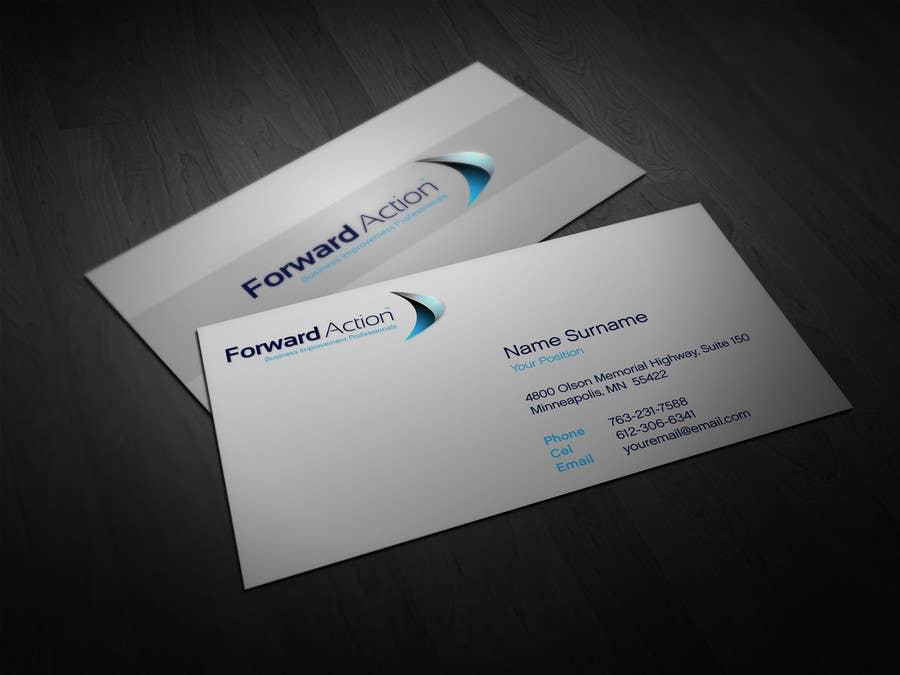 """Contest Entry #58 for Logo Design for Forward Action   -    """"Business Coaching"""""""