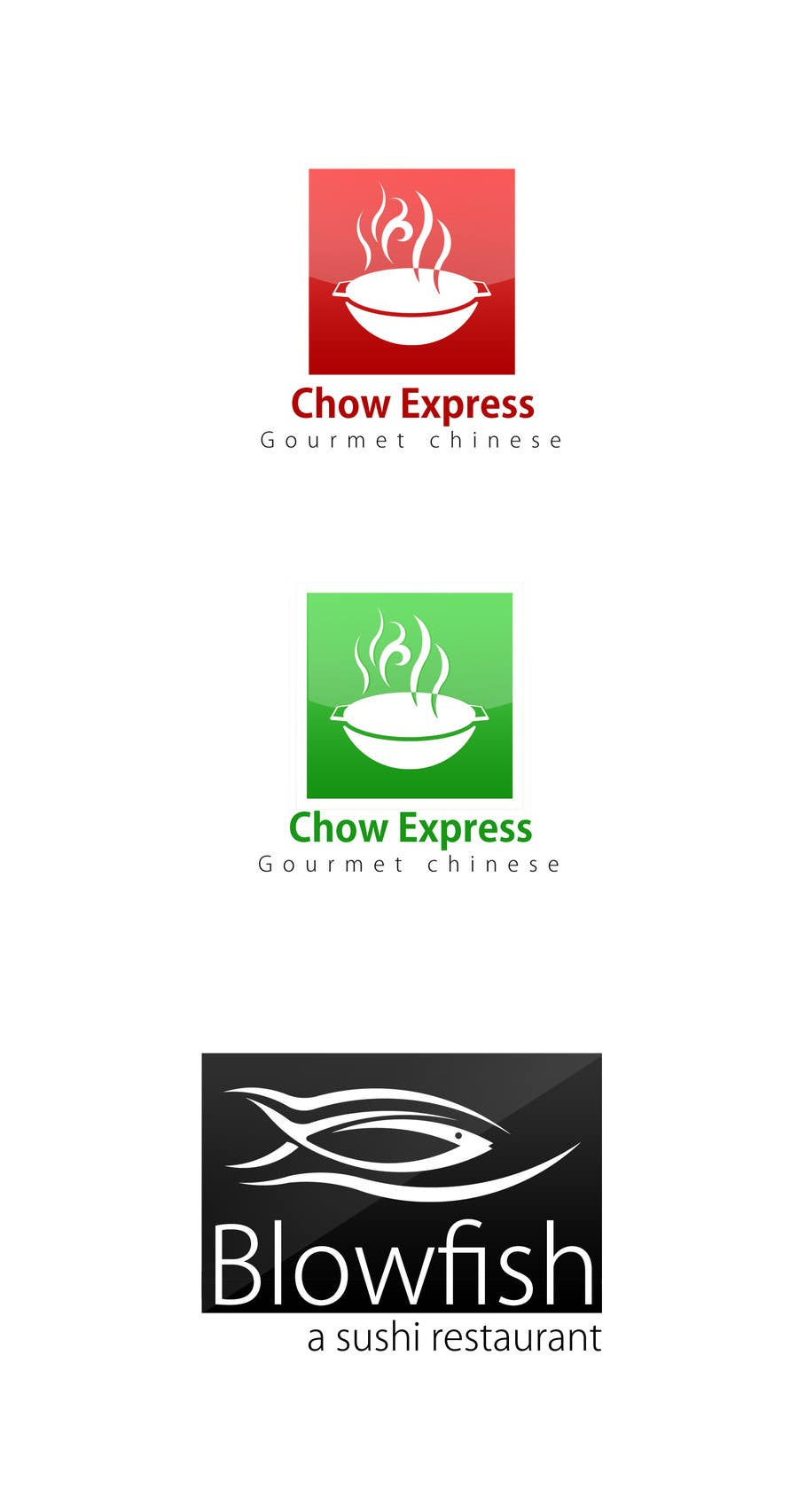 #218 for Design two Logos for a Chinese restaurant and a sushi restaurant by KhalfiOussama