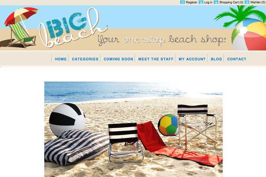 Contest Entry #38 for Logo Design for Big Beach