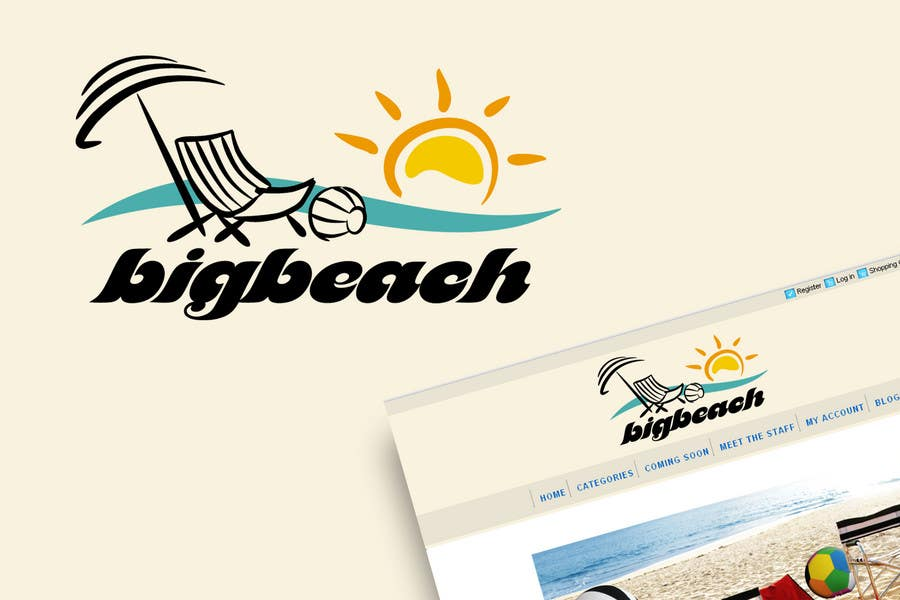 Конкурсная заявка №109 для Logo Design for Big Beach