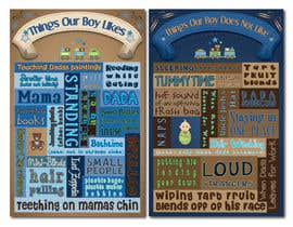 #18 untuk Whimsical Nursery Posters - Text-Based (Text Provided) oleh KCale