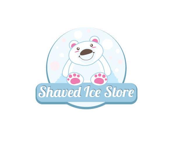 Kilpailutyö #41 kilpailussa Design a Logo for shaved ice dessert store