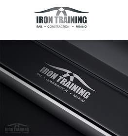 #193 para Design a Logo for IRON TRAINING por paxslg
