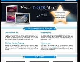 #72 para Design a banner for a star naming website por jp2123