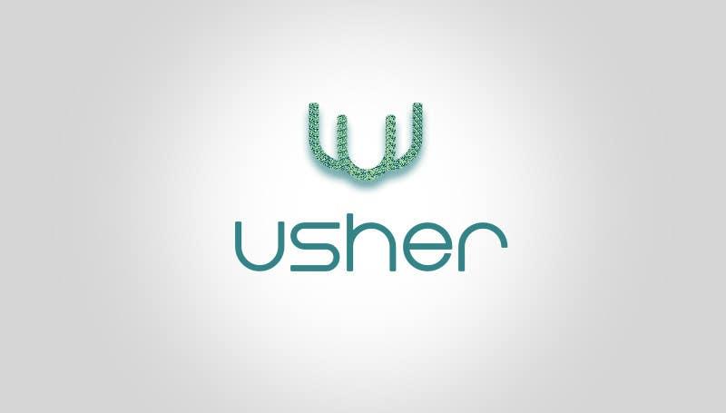 Bài tham dự cuộc thi #                                        105                                      cho                                         Design a Logo for a product names Usher