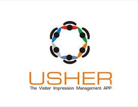 #91 for Design a Logo for a product names Usher by kinarya