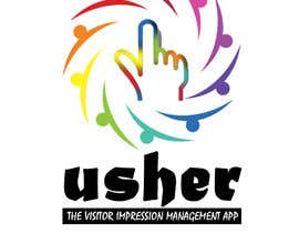 #107 for Design a Logo for a product names Usher by pkakshaykumar