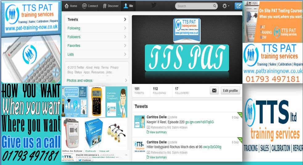 #11 for Design a Twitter background for me by Salimaldeen