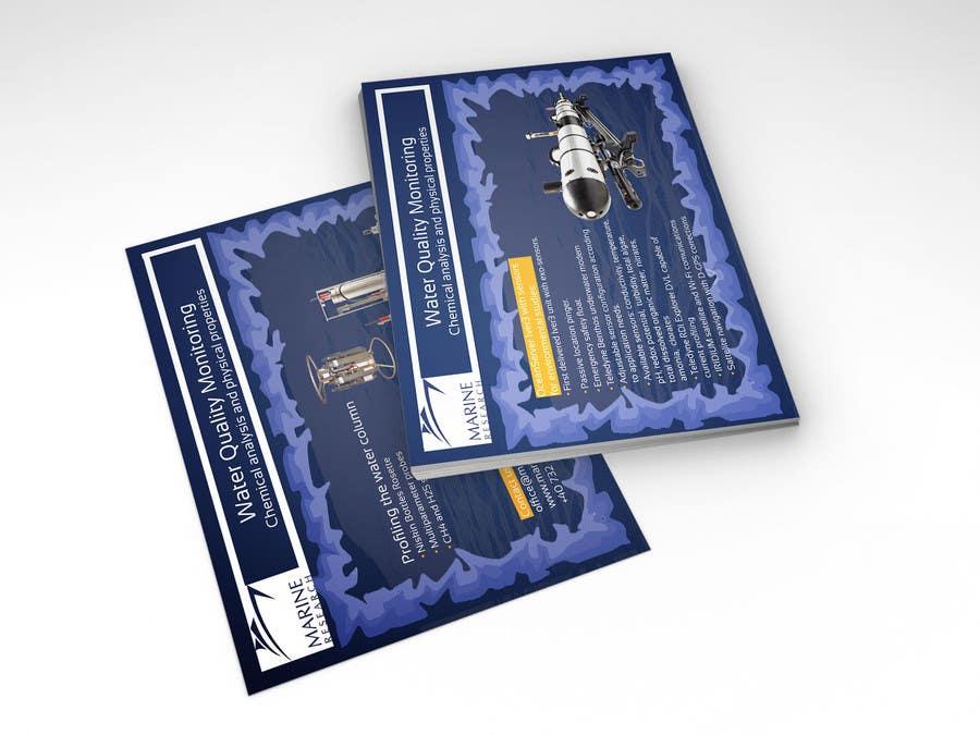 Конкурсная заявка №12 для Flyer for water quality monitoring devices