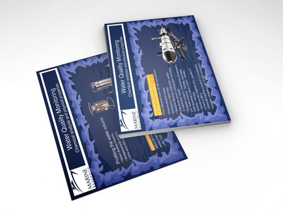 Конкурсная заявка №16 для Flyer for water quality monitoring devices