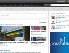 #124 para Design a Website Mockup for a Business Social Network like Linkedin de MamboKingZ