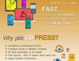 #8 for Design a Flyer for fixpress.com.au by dlite0208