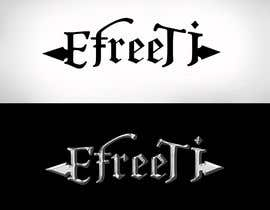 #76 for Metal band logo (top 3) af albertracq
