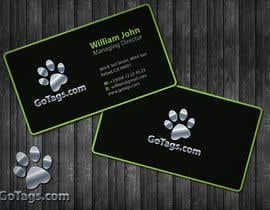 #38 untuk Business Card Design for GoTags.com LLC oleh topcoder10