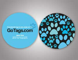 #8 pentru Business Card Design for GoTags.com LLC de către sgerardino