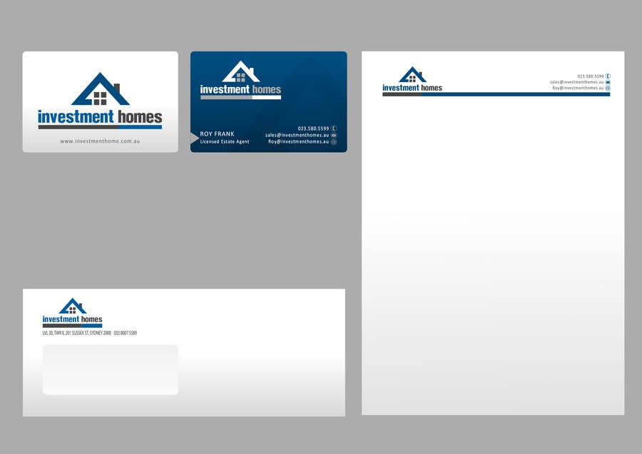 #53 for Logo and Business Card Design by catalinorzan