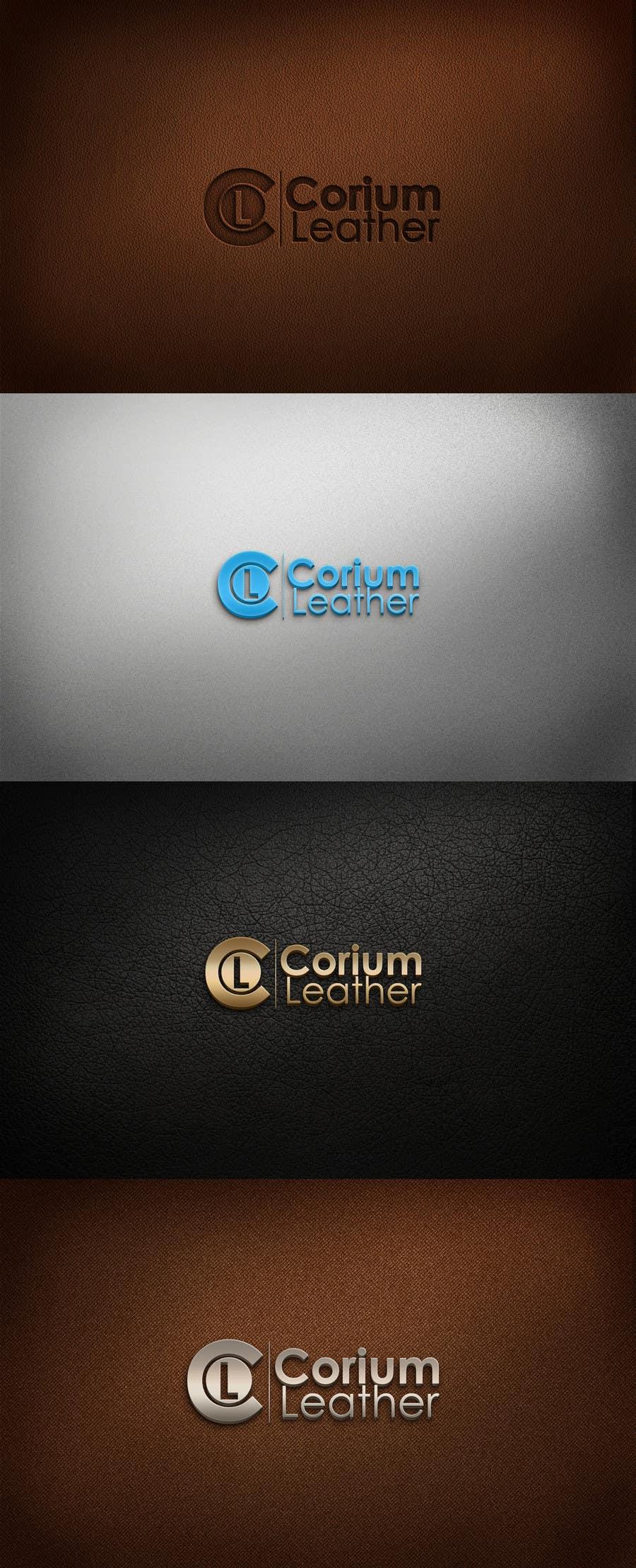 Penyertaan Peraduan #                                        69                                      untuk                                         Design a Logo for Corium Leather
