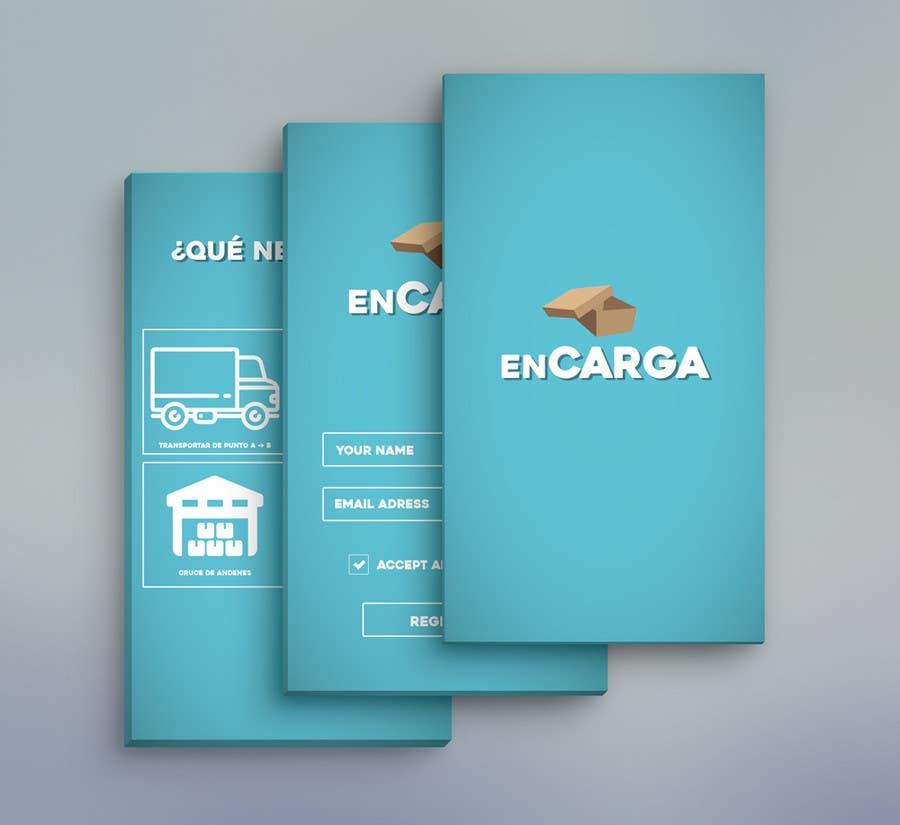 Contest Entry #1 for en- carga app mock up contest