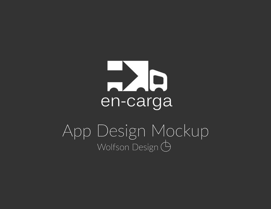 Contest Entry #6 for en- carga app mock up contest
