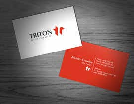 #119 para Design some Business Cards for Triton por F5DesignStudio
