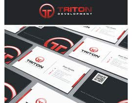 #118 para Design some Business Cards for Triton por shifanaDesigns
