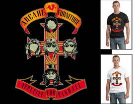 #31 untuk Design a T-Shirt for Arcade Furniture mixing pinballs with metal or religion, or whatever you want! oleh asterix01
