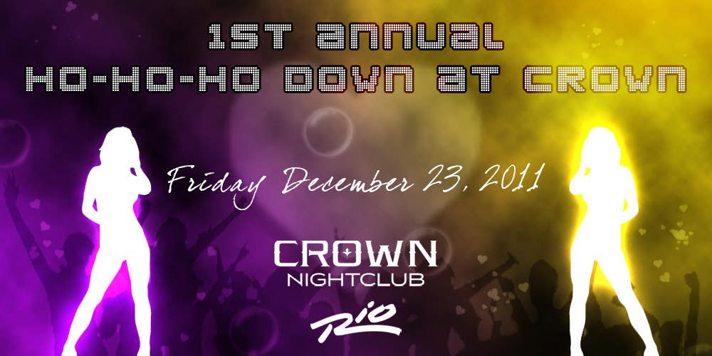 Proposition n°                                        2                                      du concours                                         Easy Quick Facebook Graphic Design for Crown Nightclub Las Vegas