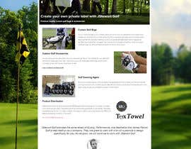 #23 para Design a Twitter background for JStewartgolf por nikster08