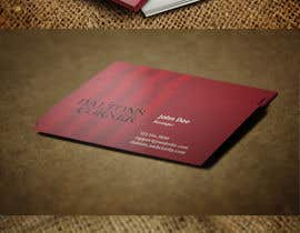 #33 untuk Design some Business Cards for Barr & Grill oleh Zeshu2011