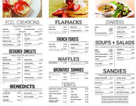 design a trifold menu brochure freelancer