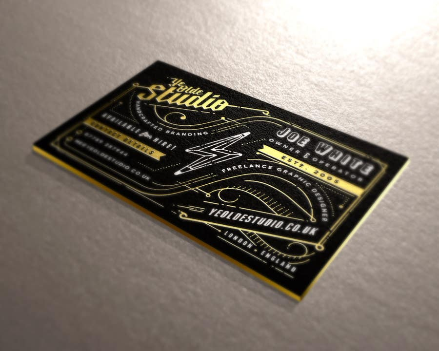 Konkurrenceindlæg #318 for Top business card designs - show off your work!