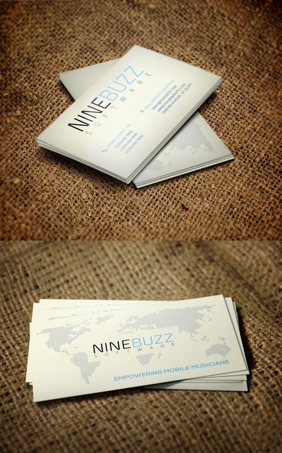 Konkurrenceindlæg #728 for Top business card designs - show off your work!