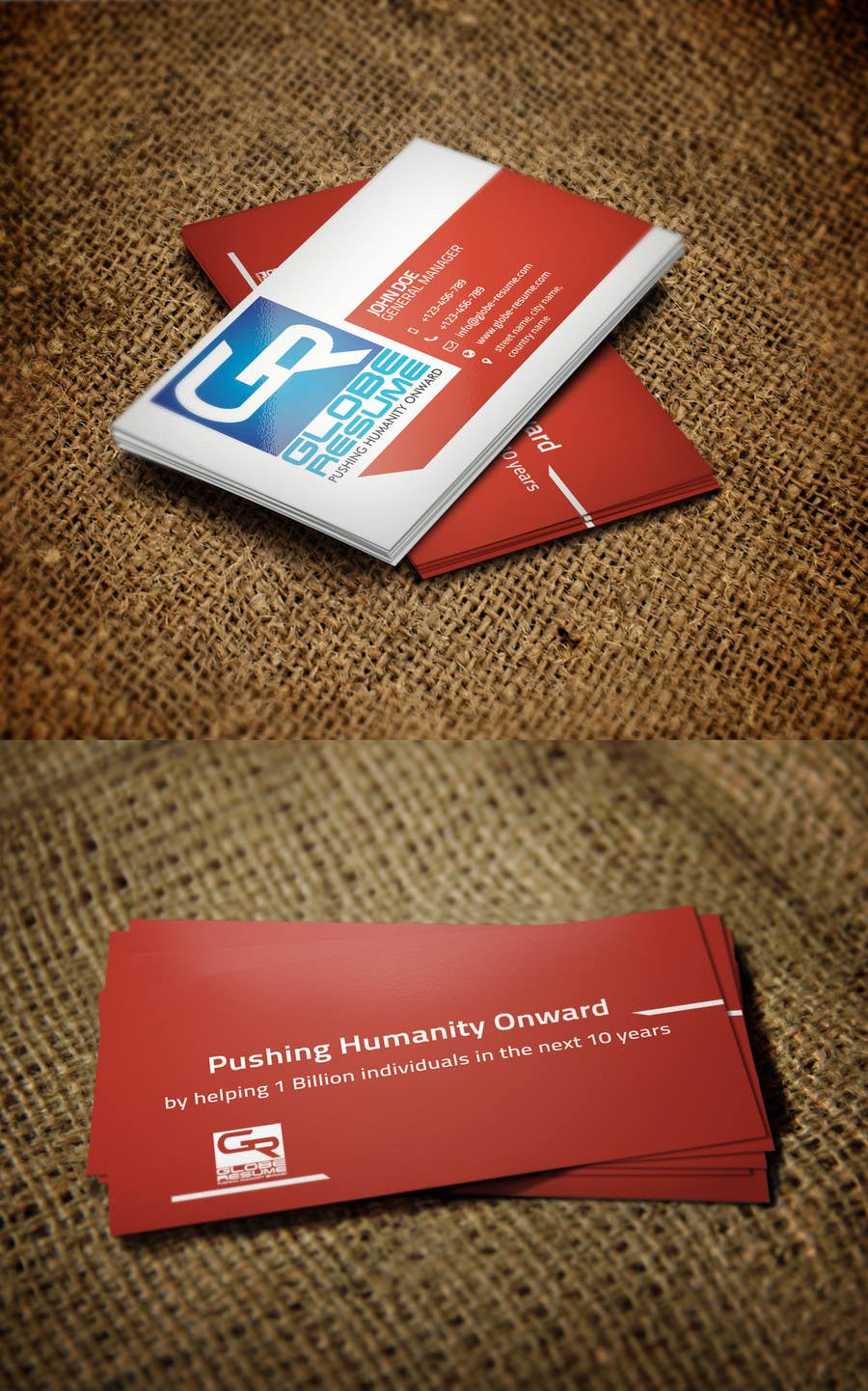 Konkurrenceindlæg #729 for Top business card designs - show off your work!