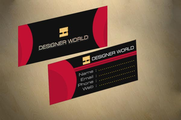 Konkurrenceindlæg #764 for Top business card designs - show off your work!