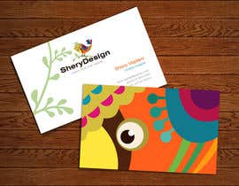 #428 para Top business card designs - show off your work! por SheryVejdani