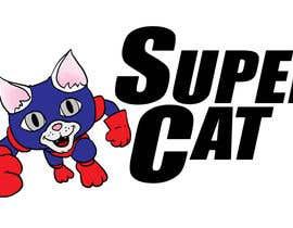 #121 para ILLUSTRATE A COOL SUPER CAT LOGO por AHingley