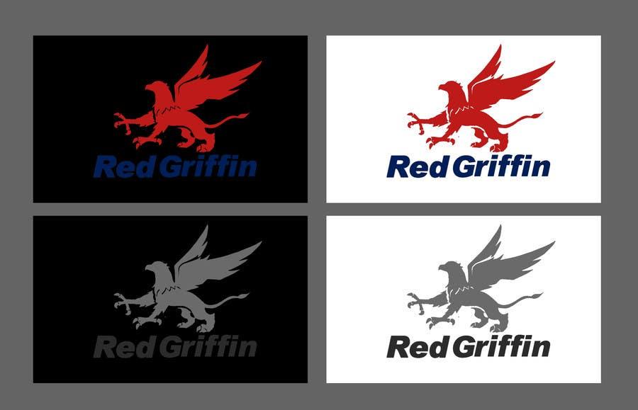 Kilpailutyö #9 kilpailussa Design a Logo for Red Griffin small business
