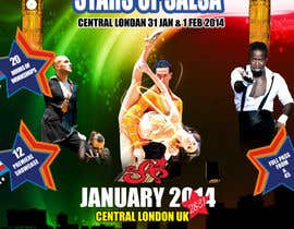#29 para Stars Of Salsa '14 - The UK Latin Dance Festival por MagicalDesigner