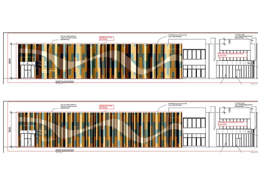 Inscrição nº 28 do Concurso para Design a new wall panel (2D) for commercial warehouses