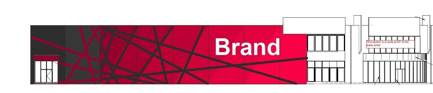 Inscrição nº 36 do Concurso para Design a new wall panel (2D) for commercial warehouses