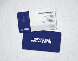 #194 untuk Business Card Design for Top Dollar Pawnbrokers oleh jigschotai