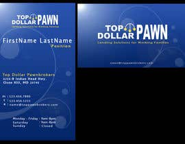 nº 11 pour Business Card Design for Top Dollar Pawnbrokers par SadunKodagoda