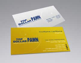 #61 untuk Business Card Design for Top Dollar Pawnbrokers oleh SadunKodagoda