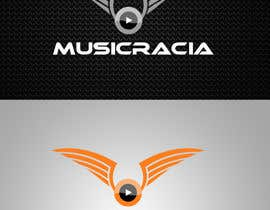 #77 for Design a Logo for Musicracia af sreesiddhartha