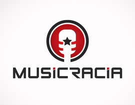 #63 para Design a Logo for Musicracia por Psynsation