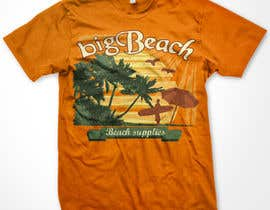 nº 88 pour Tshirt design for Big Beach par WendyRV